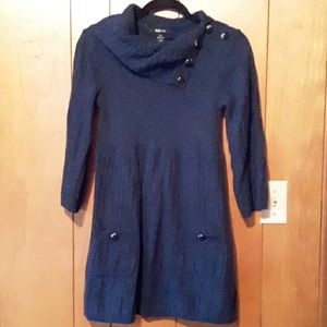 """The """"must have"""" sweater dress- size medium"""